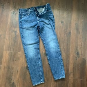 Levi's Button Fly Tapered Jeans